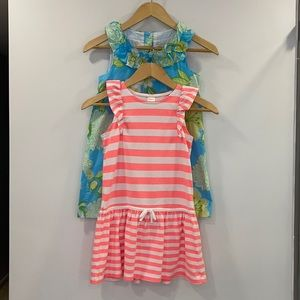 2 Girls Dresses sz 7 by Gymboree & Maggie & Zoe